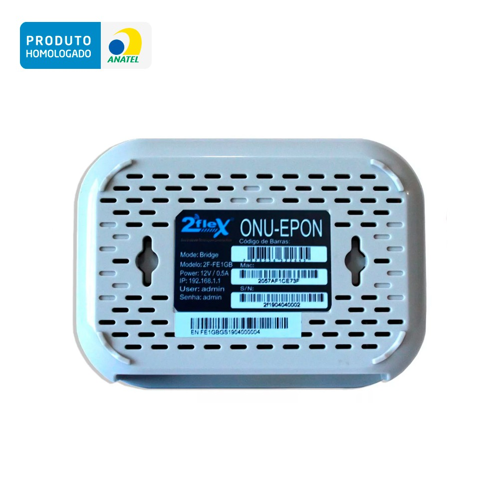 ONU EPON 1G BRIDGE 2F-FE1GB